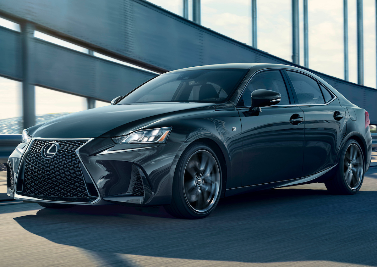 lexus will offer a 2019 is 300 f sport black line edition