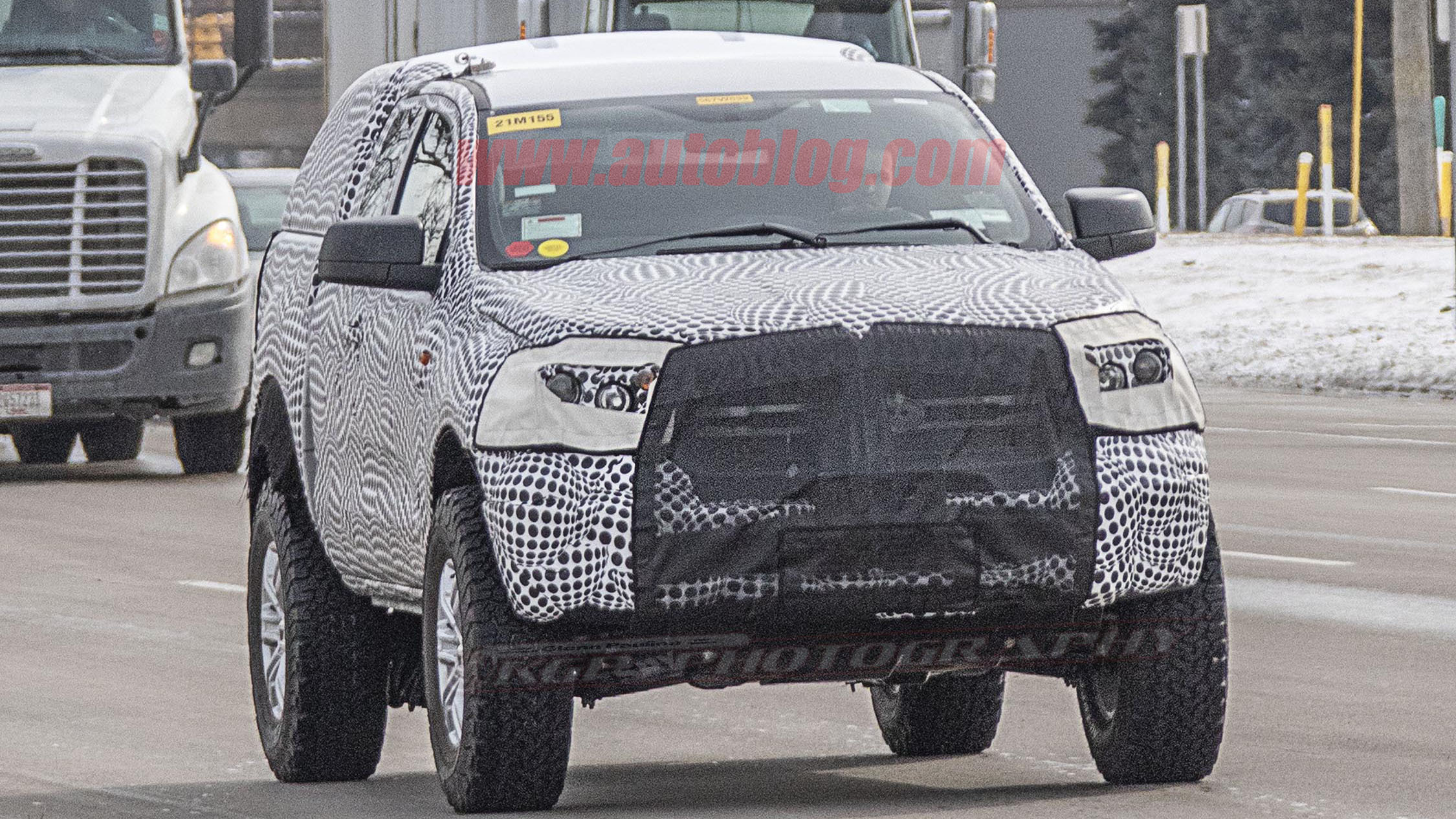 2020 ford bronco prototype possibly spied   autoblog