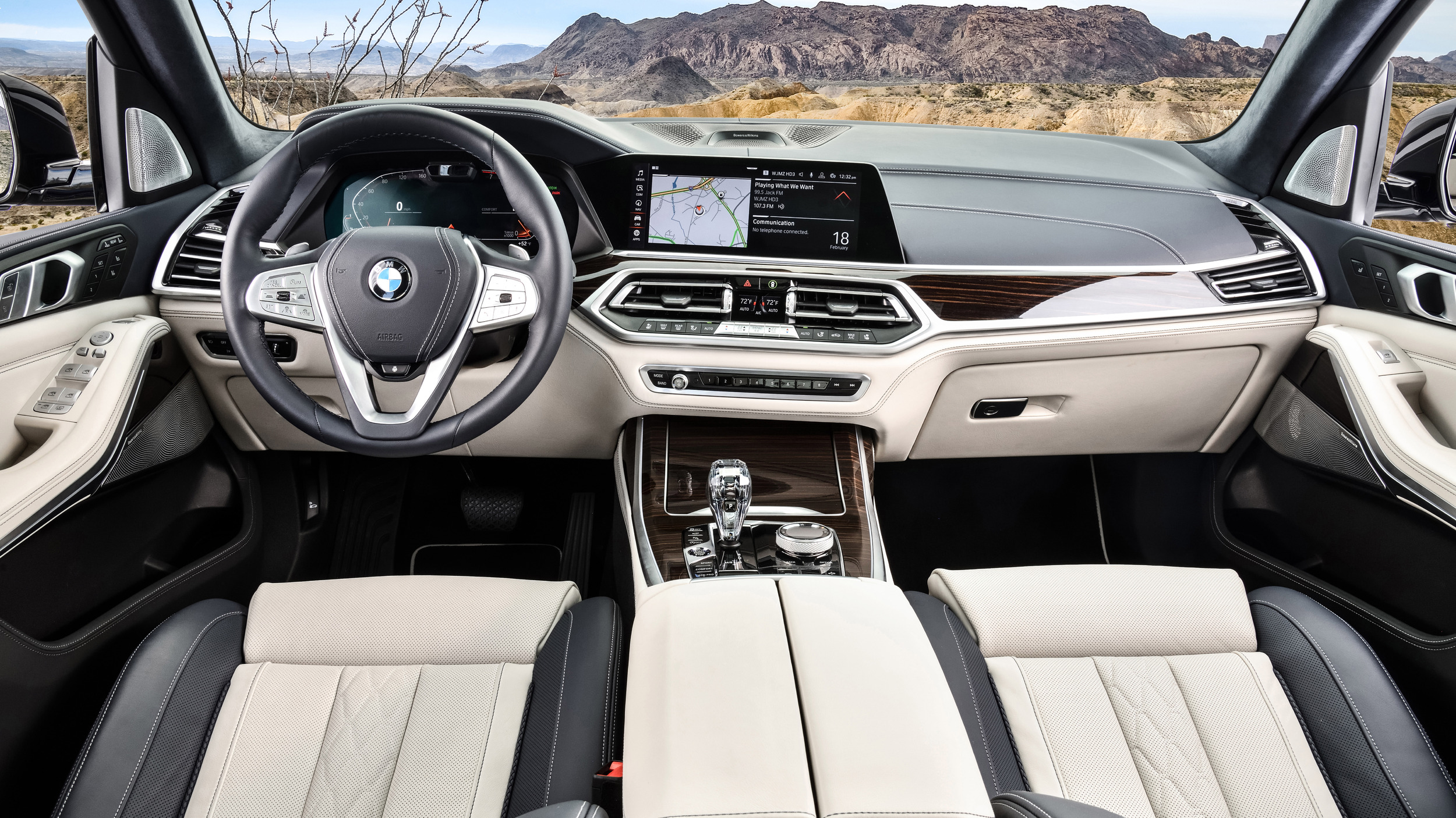 Interior Pictures Of Bmw X7I
