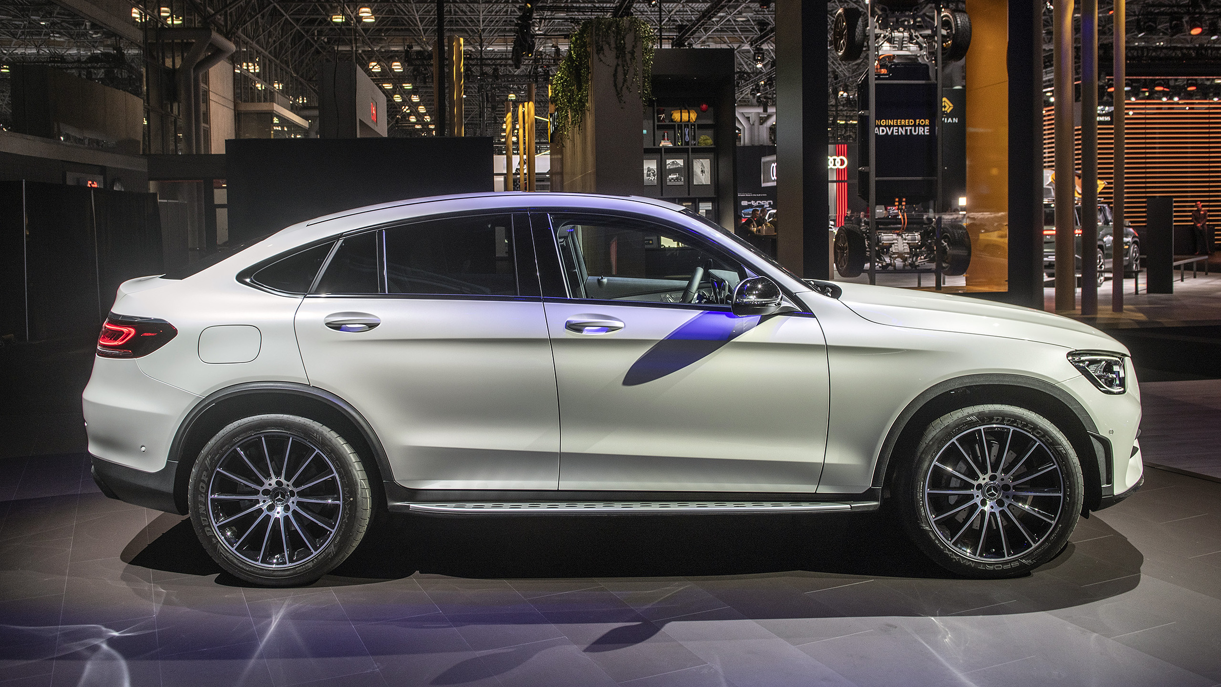 2020 Mercedes-Benz GLC-Class Coupe Gets Light Update