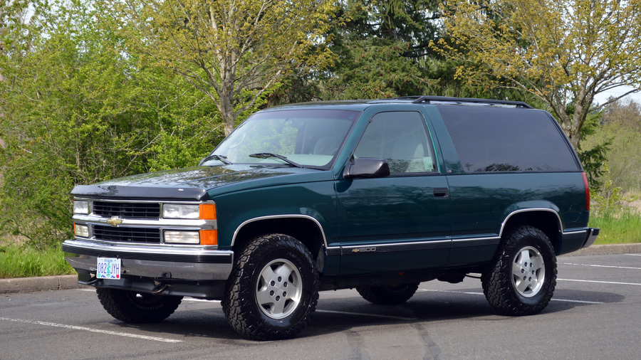 Kia Certified Pre-Owned >> 1995 Chevrolet Tahoe LS Two-Door with 46,697 miles found ...
