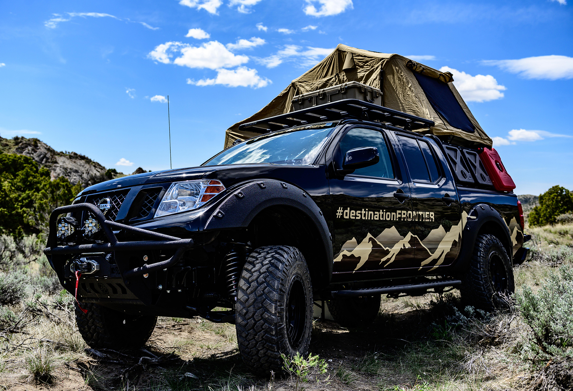 Nissan brings Destination Frontier Concept to Overland ...