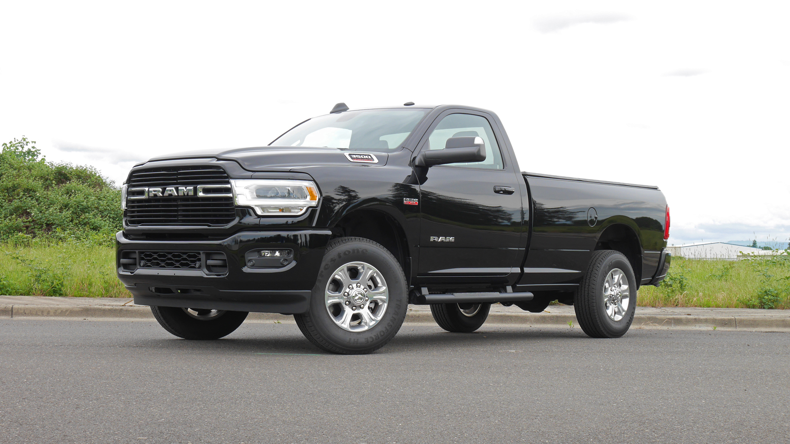2019 Ram 3500 HD Regular Cab Big Horn Review | Payload ...