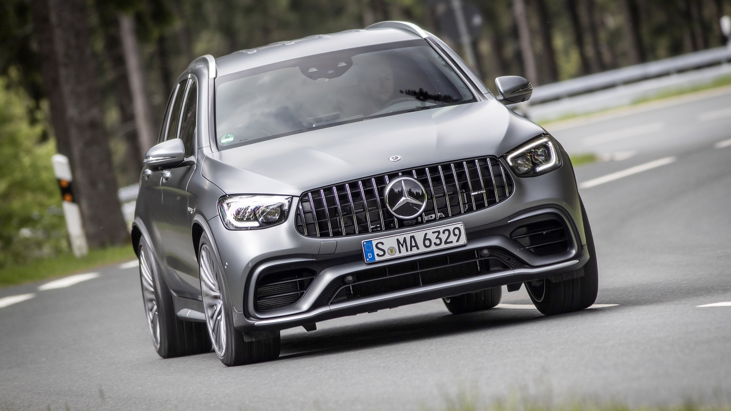 2020 Mercedes-AMG GLC 63 & GLC 63 S Coupe First Drive ...