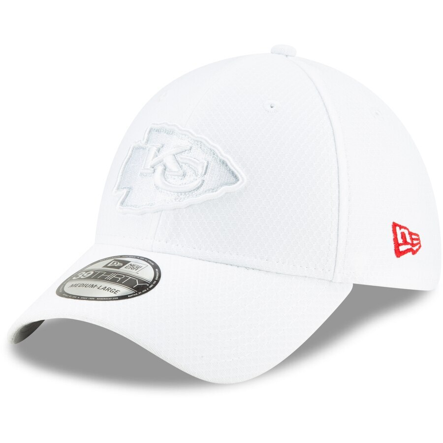 Special edition all-white hats celebrate NFL's 100th season