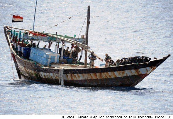 Retired Brit Tourists Fight Off Somali Pirate Cruise Attack With - Pirates attack cruise ship