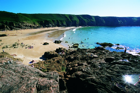 Secluded Beaches In Jersey Channel Islands