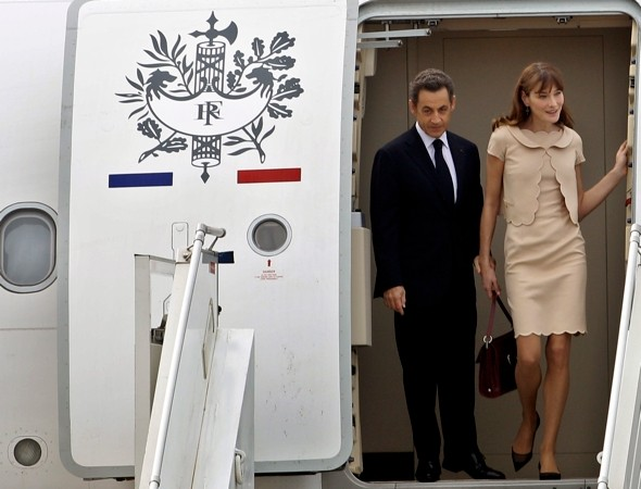 Nicolas Sarkozy gives his private plane a £250m million makeover