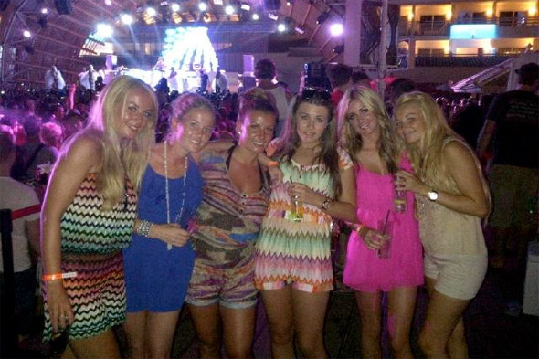 Another holiday? Coleen enjoys girlie getaway in Ibiza