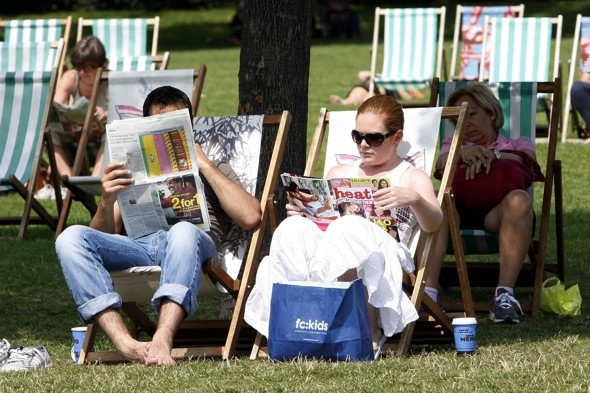 What a sizzler! August kicks off with heatwave - and Wednesday set to fry