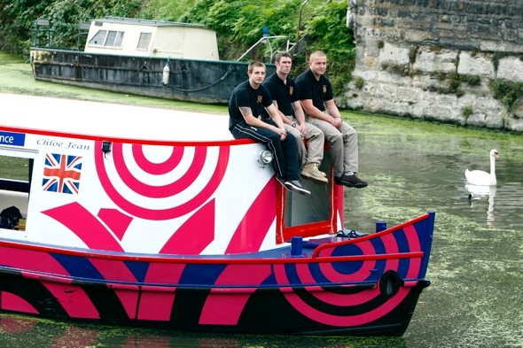 Injured marines to offer canal boat service to 2012 Olympic tourists