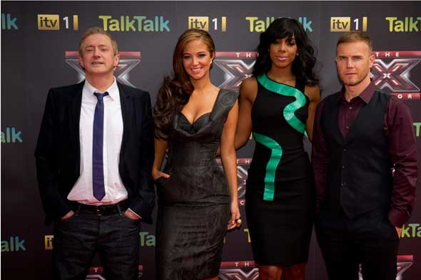 X-Factor judges