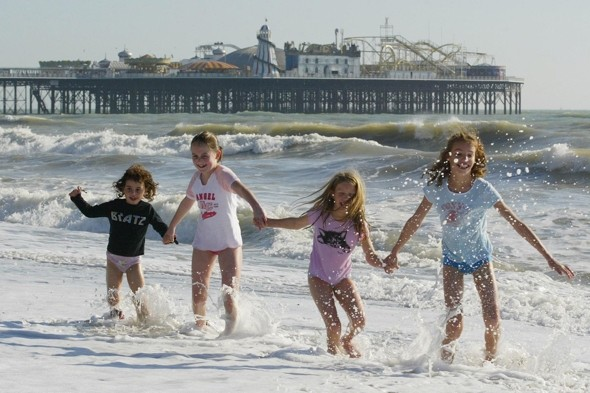 October half-term to kick off with HOT weekend