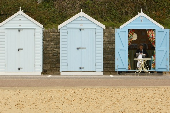 Bournemouth builds beach hut chapel for Britain's first waterfront weddings