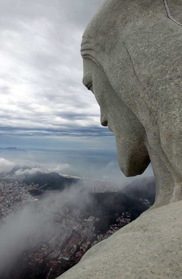 Brazilians throw huge party to celebrate iconic Christ the Redeemer statue's 80th birthday