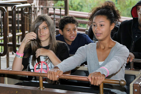 Michael Jackson's children go wild at theme park in Germany