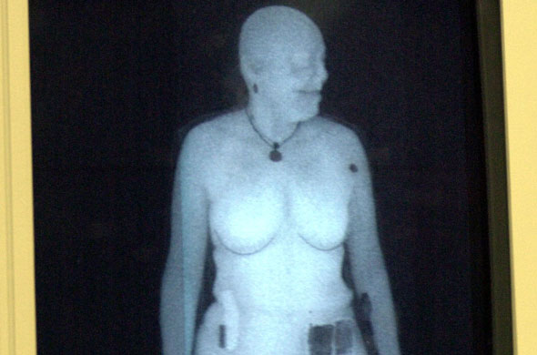 Airports that have naked body scanners