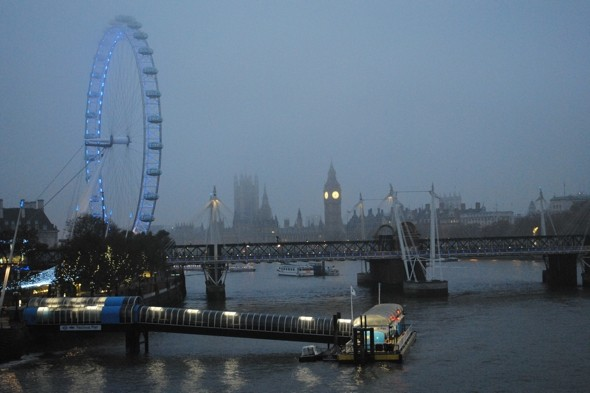 Brit travel chaos as fog causes 74 London flight cancellations