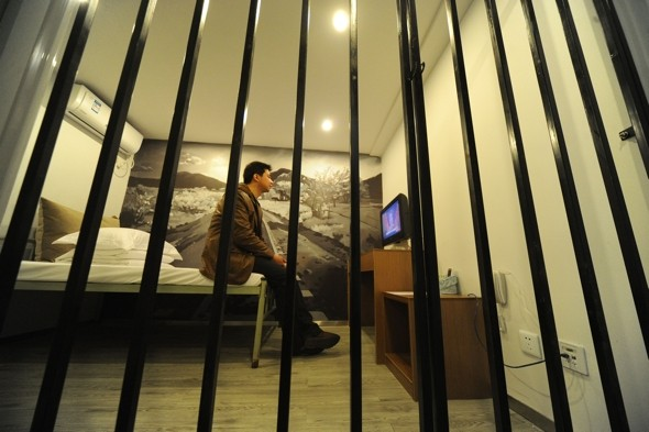 Prison break: Jail-themed hotel opens in China