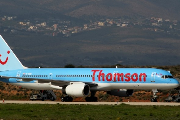 British holiday jet narrowly avoids disaster after landing on taxiway instead of runway