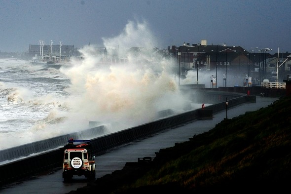 Britain preparing for more storms, wind and snow