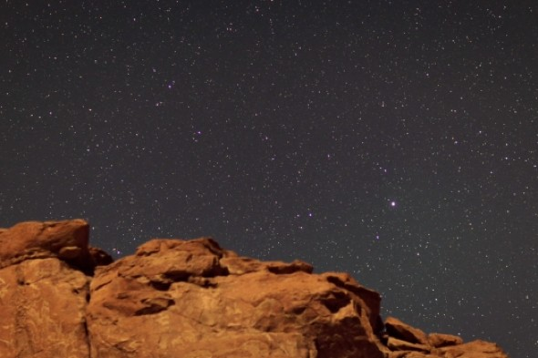 Star of the show: Time-lapse photography reveals amazing desert sky in Chile