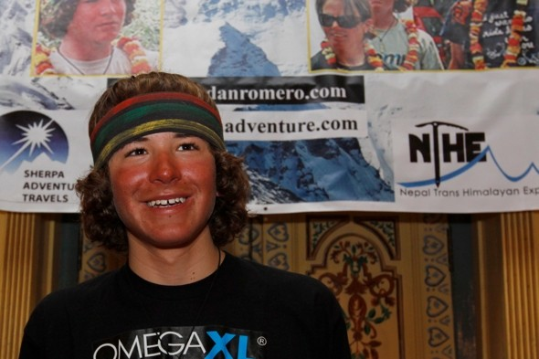 Teen becomes youngest person to climb highest peaks of all continents