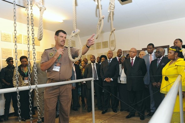 South African gallows opened as national monument and museum