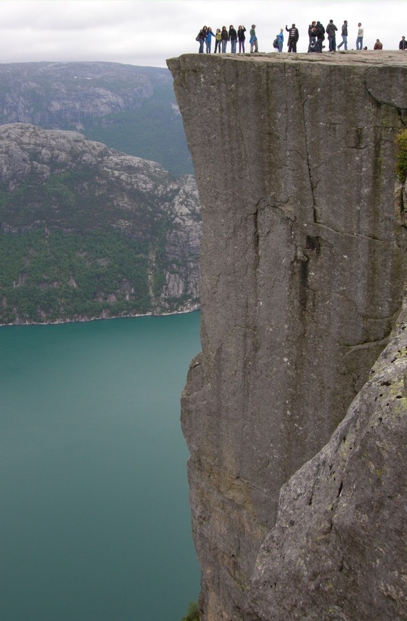 Is Norway's 1,982ft Pulpit Rock the world's scariest tourist attraction?