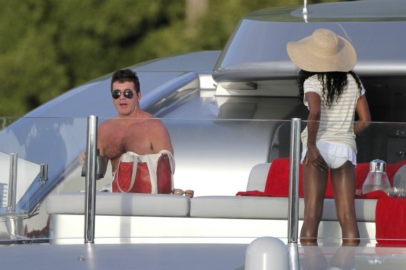 Cowell's 25-day Caribbean holiday finally ends