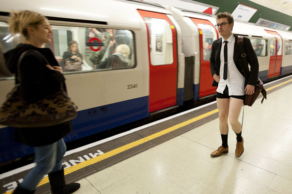 No trousers day around the world
