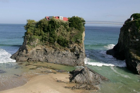 Coolest beach house in Britain up for sale for £1 million in Newquay, Cornwall