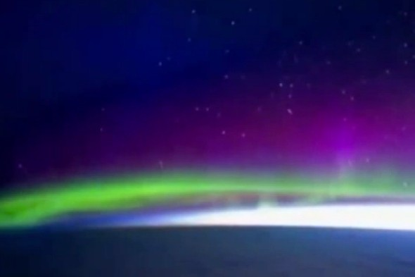 Video: Northern Lights move in amazing time-lapse photography - from space