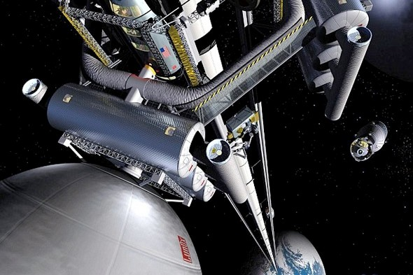 Space 'lift' could take tourists into orbit within 40 years