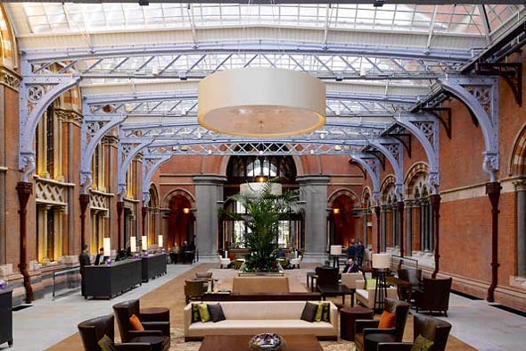 Hotel review: St. Pancras Renaissance Hotel, London