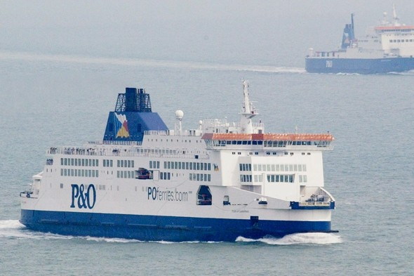Woman gives birth on P&O ferry