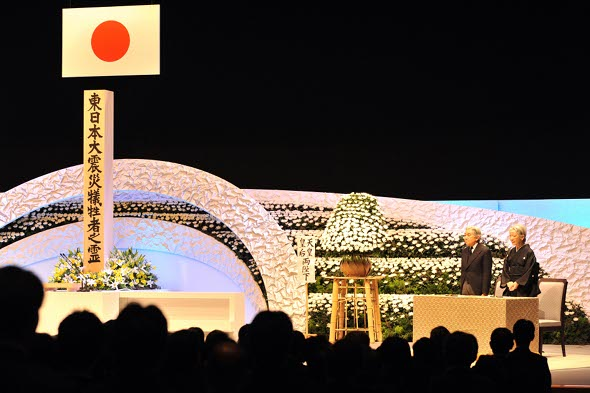 Japan marks first anniversary of tsunami