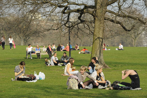 Balmy Britain basks in record temperatures... but will it last?
