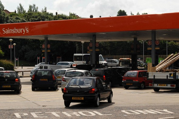 Petrol station CCTV to be used to catch uninsured drivers