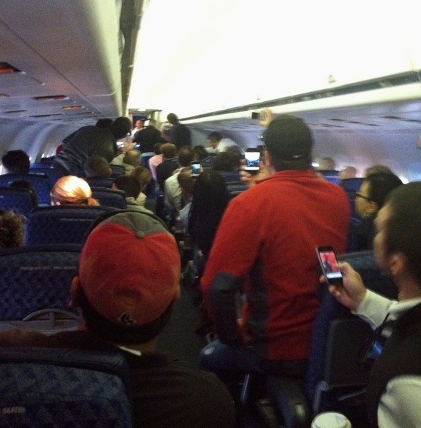 'We're going to crash': Flight attendant restrained after terrifying passengers