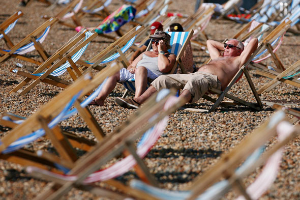 Here comes the sun! The London Olympics looks set to be a 'scorcher'