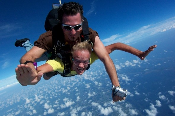 Ten of the world's most extreme holiday activities