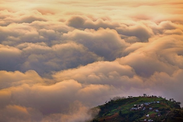 Walking on air: The Nepalese village of Nagarkot where everyone has their head in the clouds