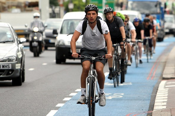Taxi firm boss demands that cyclists pay road tax
