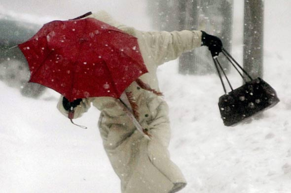 Forget April showers: Snow and temperatures of -2C predicted