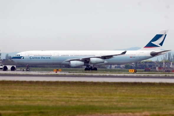 Engine failure forces Paris-bound Cathay Pacific  plane to turn back to Hong Kong