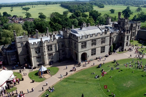 Warwick Castle fined £350,000 after tourist dies in fall from attraction