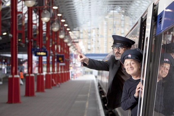 Baldrick to help cheer up rail commuters
