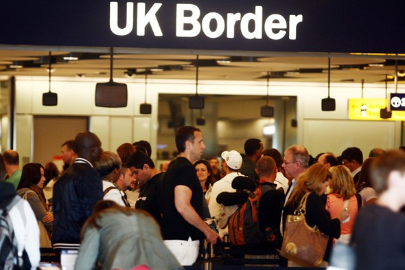 Migrant clampdown to cause airport chaos
