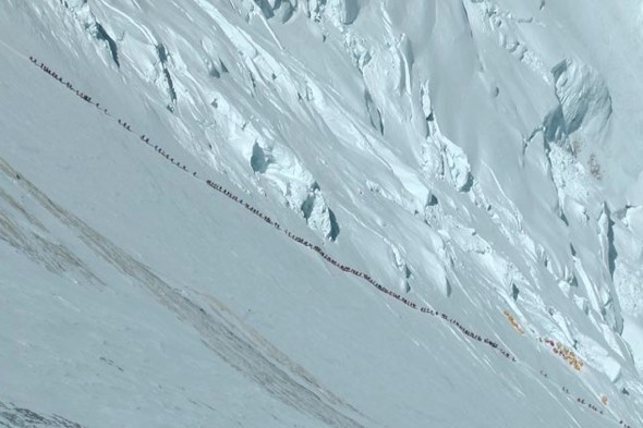 Mount Everest 'traffic jam' could have contributed to four deaths
